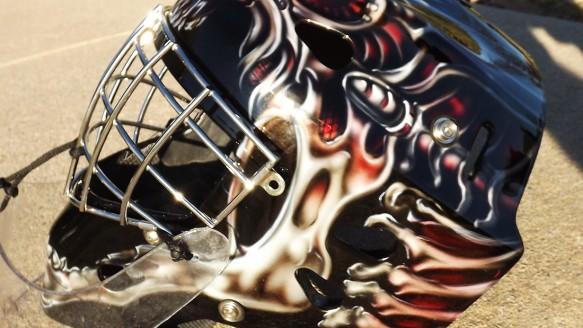 Custom Goalie Masks Catchers Masks Archives Dallas Airbrushdallas