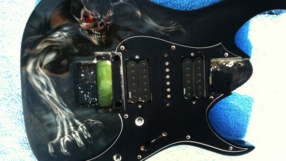 custom painted guitars archives  u2014 dallas airbrushdallas airbrush