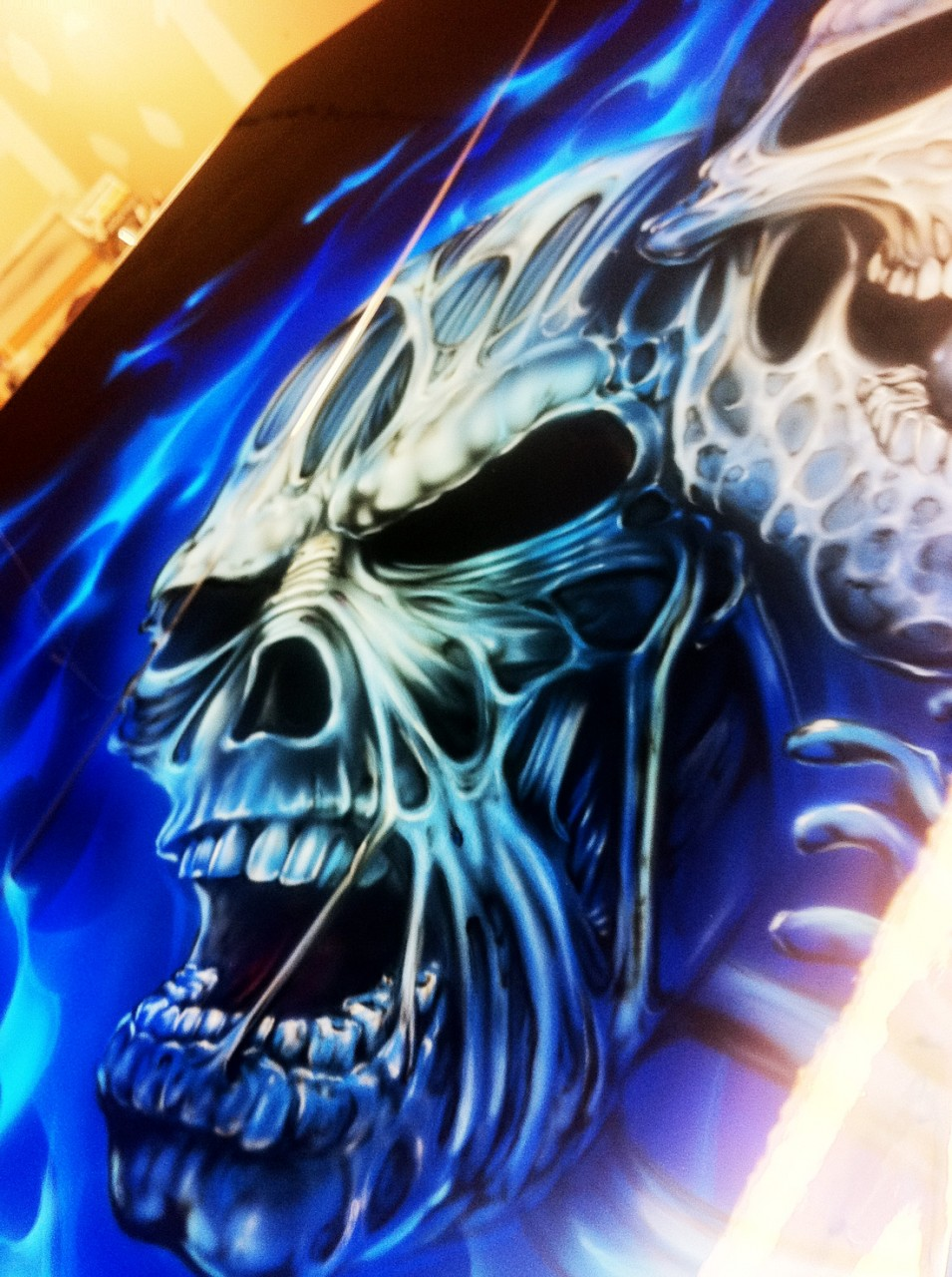 Skull Airbrush Designs Best
