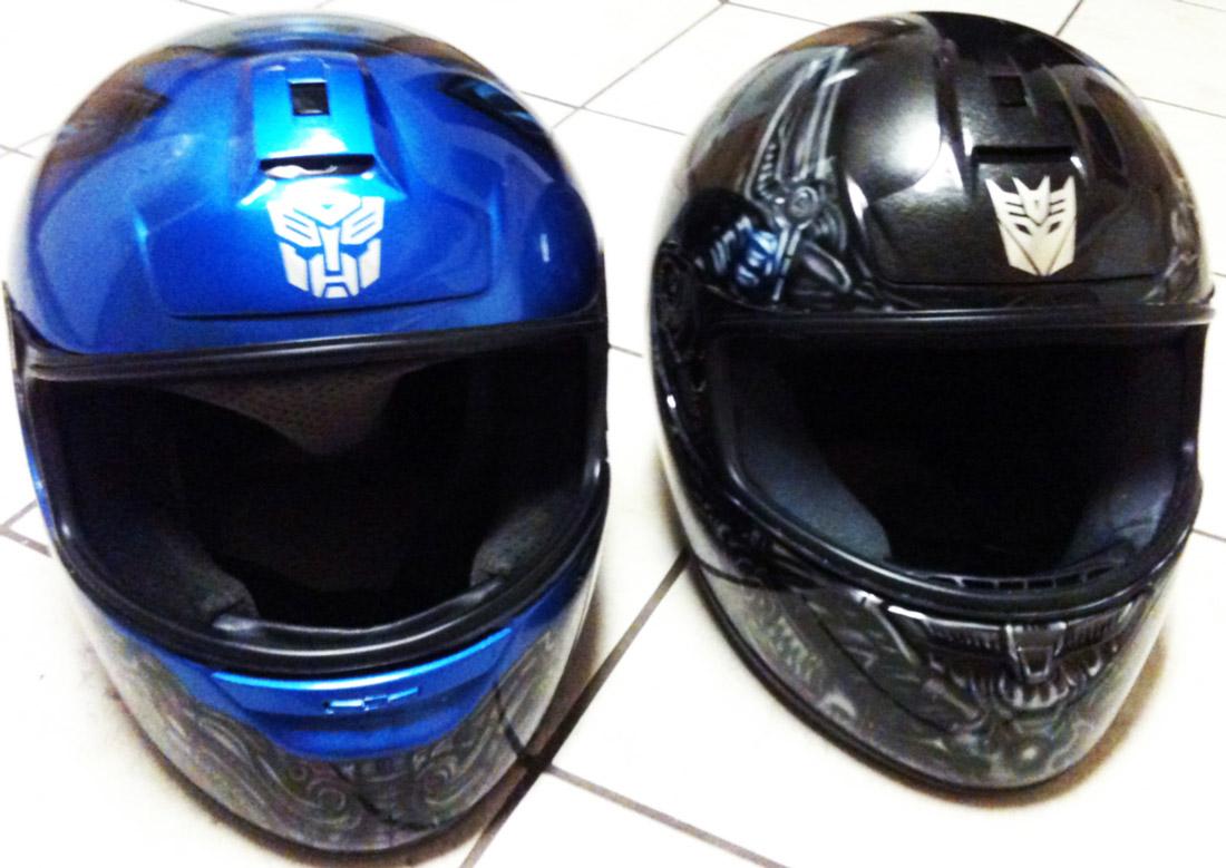 Custom Airbrushed Helmets-Transformers- Megatron-Optimus ... Custom Star Wars Motorcycle Helmet